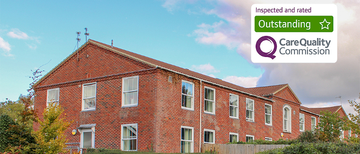 outstanding rated care home